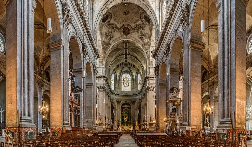 Paris St Sulpice Interior