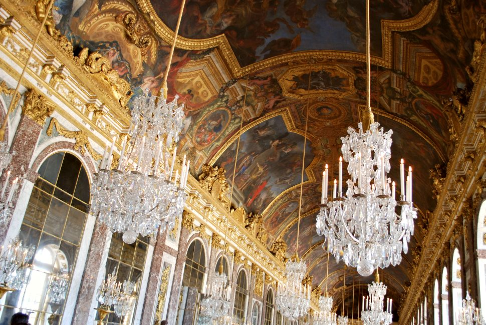 Paris Versailles Chandeliers New