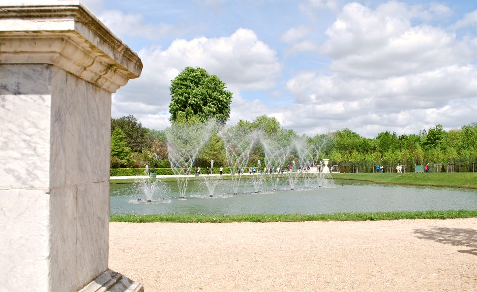 Paris Versailles Water Fountains New