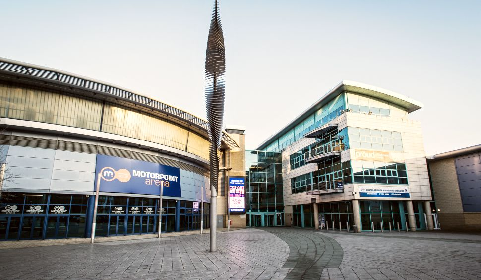 Nottingham Motorpoint Arena Front New