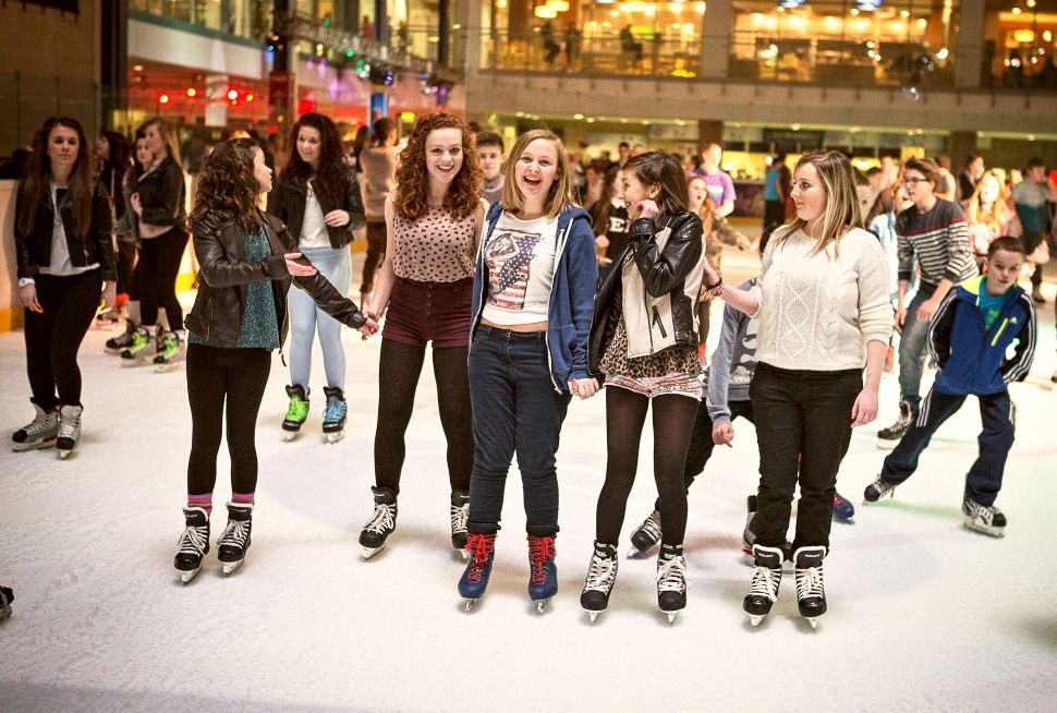 Nottingham National Ice Centre Skaters Large