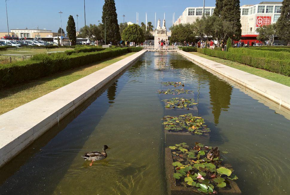 Gardens in Belem, Lisbon