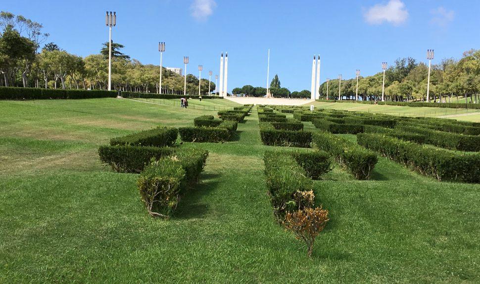 Parque Eduardo VII park, Lisbon