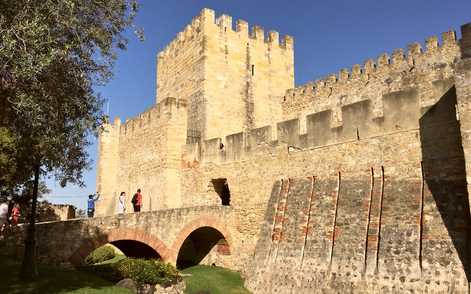 St George's Castle in Lisbon