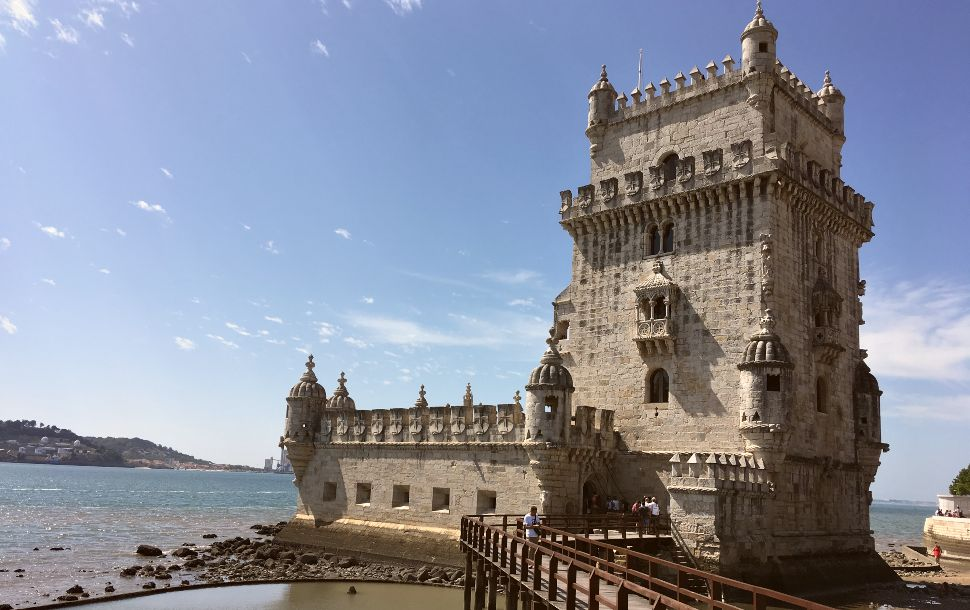Lisbon-Tower-of-Belem-Exterior